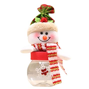 Weihnachtssüßigkeit Glas Sansee Weihnachtsmann Schneemann