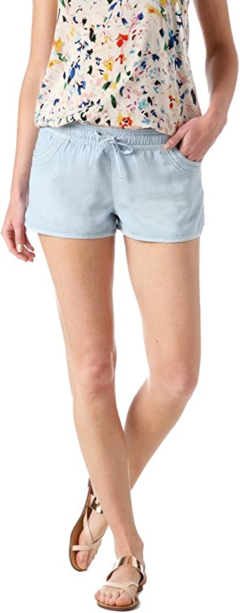 Promod Short en jean chambray Femme Jean clair 38: