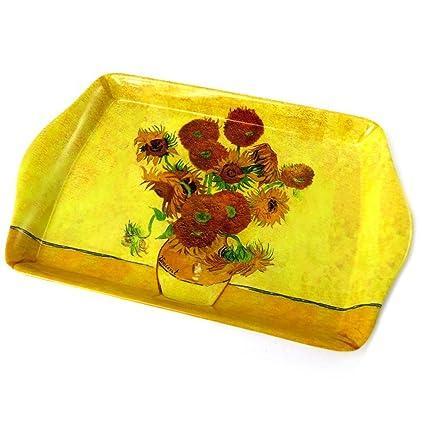 Bandeja pequeña Vincent Van Goghgirasoles - 14x21 ...