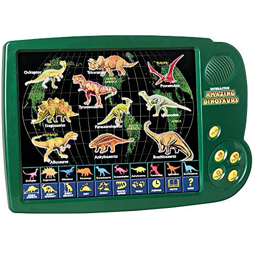 Scientific Toys Interactive Dino Activity Center for Kids w/ Over 1,000 Facts