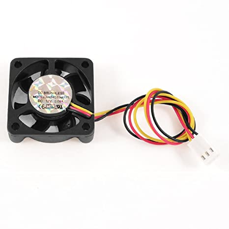 2pcs 12V 3pin 40x40x10mm 40mm 4cm 4010S Brushless DC Cooling Exhaust Fan