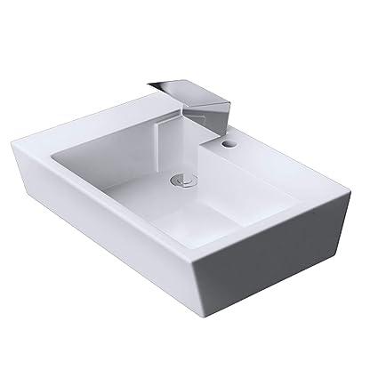Lavabo vasque a poser evier design Bruxelles819 65 x 44 x 12,5cm ...