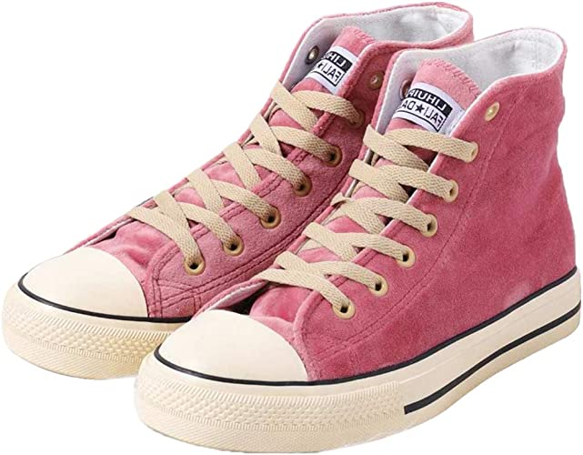 Canvas Shoes Lace-Up Suede Sneaker