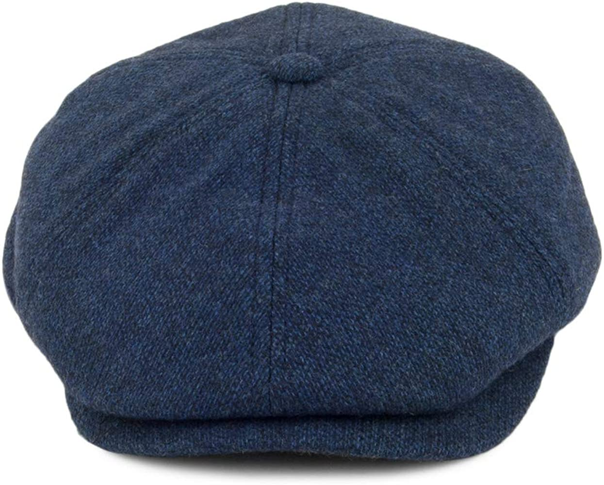 Failsworth Gorra Newsboy Hudson de Lana Inglesa Azul - 61: Amazon ...