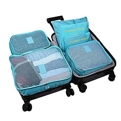 Cubos de Embalaje 6 UNIDS Conjuntos Organizadores de Viajes ...