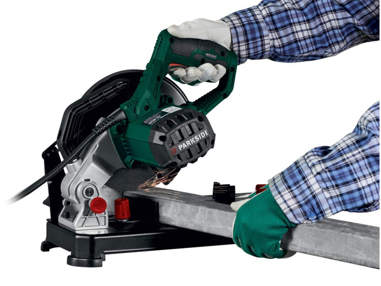 7700 RPM PMTS 180 A1 Parkside 1280W Metal Cut-Off Grinder Mitre Saw