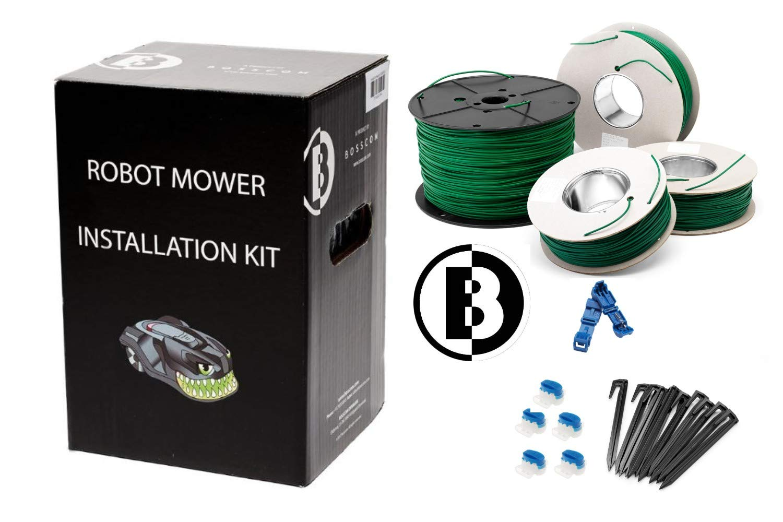 Bosscom Robotic Lawn Mower Installation Kit - Small - for Husqvarna Automower, Honda Miimo, Robomow, Worx
