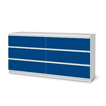 Möbelfolie Für Ikea Malm 6 Schubladen (Breit) | Folie Möbel Klebesticker  Tapete Folie Möbel
