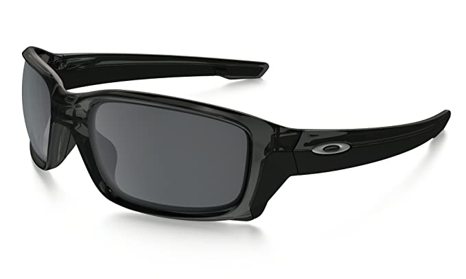 oakley mens straight jacket iridium  oakley mens straightlink asian fit sunglasses, grey smoke/black iridium, one size