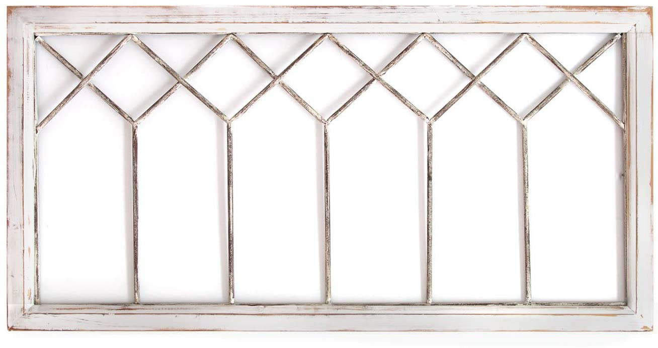 Stratton Home Decor -- Dropship, us home, SUHQX Stratton Home Distressed Window Panel Wall Decor Décor, Distressed White