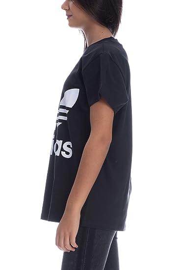 ADIDAS Damen Big Trefoil T-Shirt  Amazon.de  Sport   Freizeit cbba634ae4