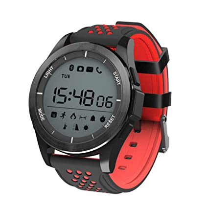 Amazon.com: F3 Smart Watch Luminous Altitude Meter Barometer ...