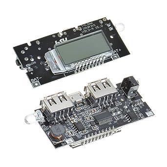 Amazon.com: Anmbest - Cargador de batería con doble USB de 5 ...