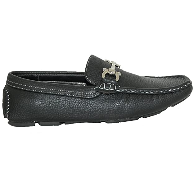 Amazon.com | Shoe Artists TRUE COMFORT Black Slip On Loafers -Size 11 | Loafers & Slip-Ons