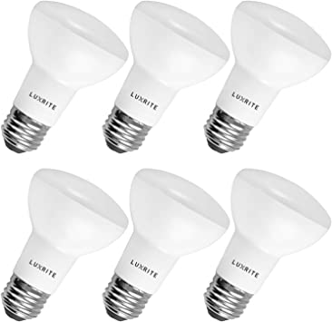 E26 Medium Base Perfect for Office and Recessed Lighting 85W Equivalent 10 Pack Dimmable Indoor//Outdoor LED Flood Light Bulb Luxrite BR40 LED Light Bulb 14W 1100 Lumen 6500K Daylight White