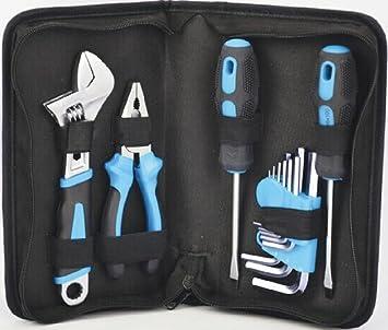 Mini bolsa de herramientas Surtido de 13 herramientas en estuche: Amazon.es: Bricolaje y herramientas
