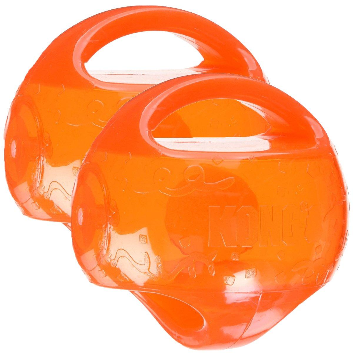 KONG Jumbler Ball Dog Toy, Medium Large (2 Pack)