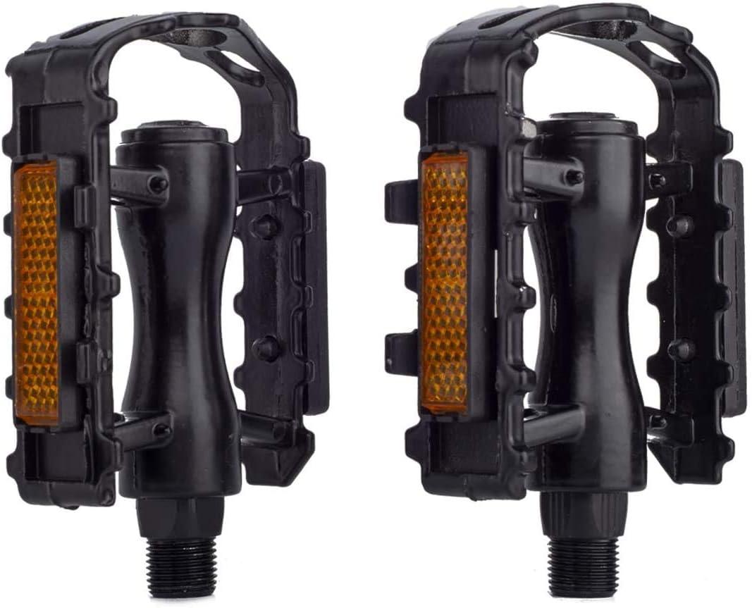 Gear Male Threaders Left Bike Pedals 9//16 bike