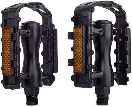Reflective BMX MTB Platform Pedal Mountain Bike Pedal Flats Bicycle Pedals