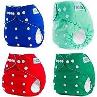 Newin Star 4pcs reutilizables bolsillo pañales de bebé