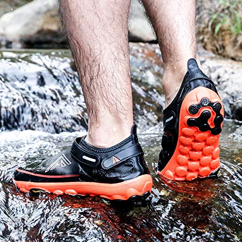 947e5ed9c1cd HUMTTO Unisex Athletic Water Shoes Man and Women Swim Walking Lake Beach  Boating Shoes