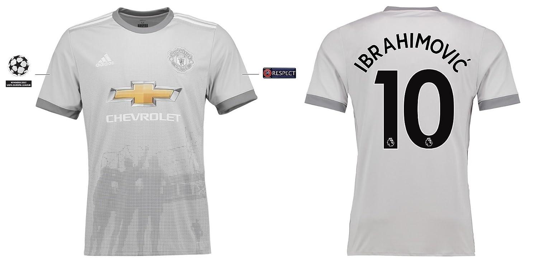 Trikot Kinder Manchester United 2017-2018 Third UCL - Ibrahimovic 10