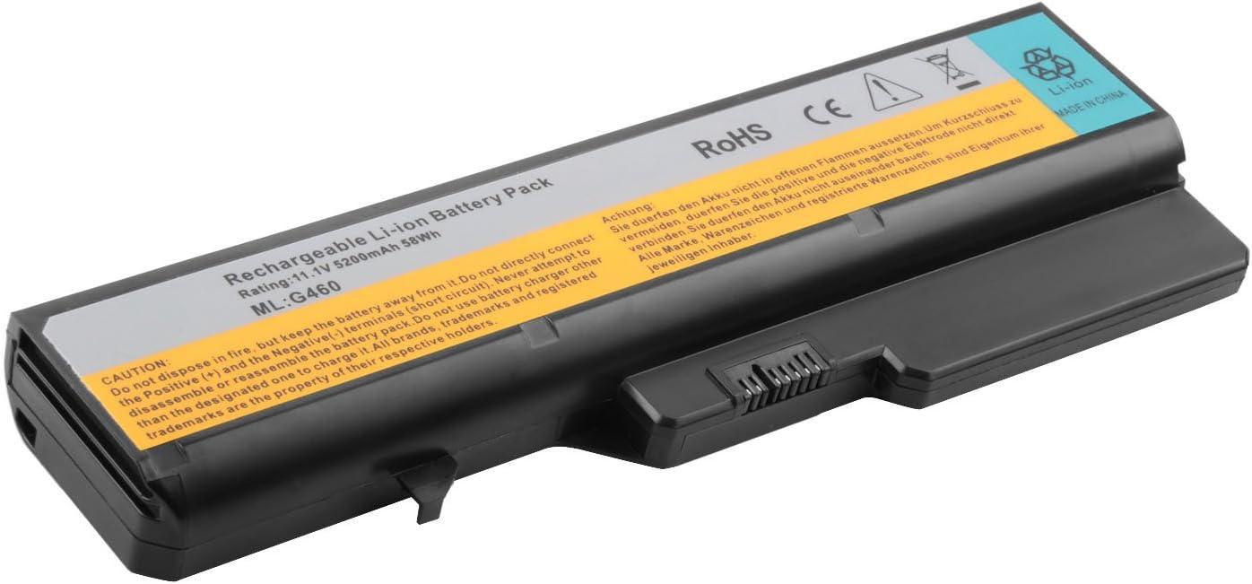 BATTERIA 4400mah per IBM LENOVO IDEAPAD z475 z475 z560 z565 z570 v370 z575 v470