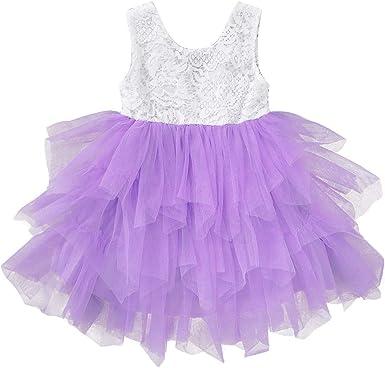 Baby Girls Children Dresses Sleeveless Sequins Bow Wedding Princess Party Dress