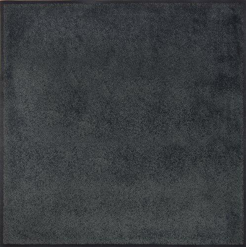 Wash+dry 005988 Fußmatte 75 x 75 cm, anthrazit