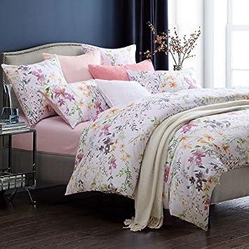 Amazon.com: YOUSA Romantic Vintage Floral Bedding Sets 100 ...