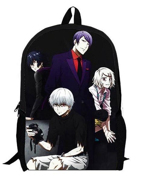 Amazon Com Yoyoshome Anime Tokyo Ghoul Cosplay Kaneki Ken Bookbag