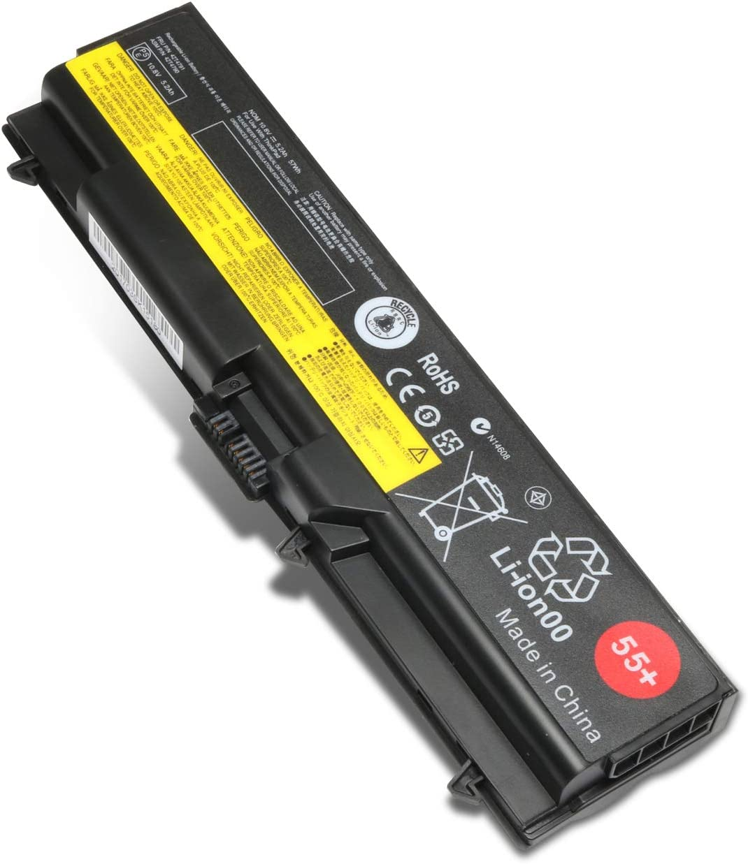 New SL410 42t4753 Replacement Laptop Battery for Lenovo ThinkPad T410 T510 SL510 T510 T520 E40 E420 E520 Series fits P/N 42T4795 42T4793 42T4791 42T4737 57WH 55+