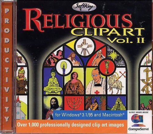 Big Book Clipart - Religious Clipart Vol 2 (Jewel Case)