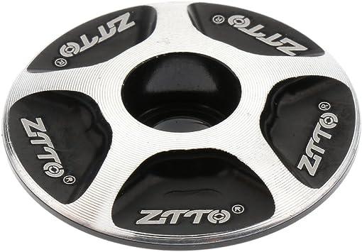 Gazechimp Tapa de Vástago Dirección Práctico Durable MTB Bici ...