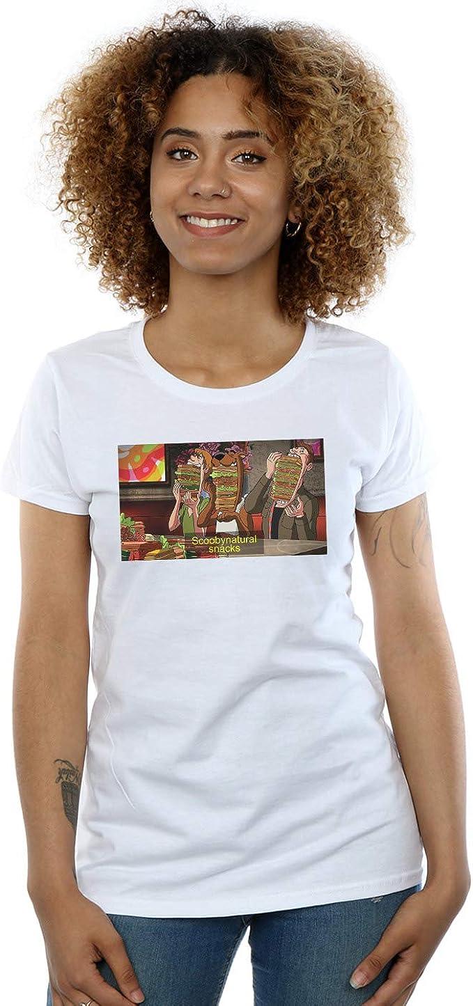 Absolute Cult Scoobynatural Mujer Supernatural Snacks Camiseta