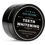 Designeez Natural Teeth Whitening Activated Organic Charcoal Powder - 30Gm