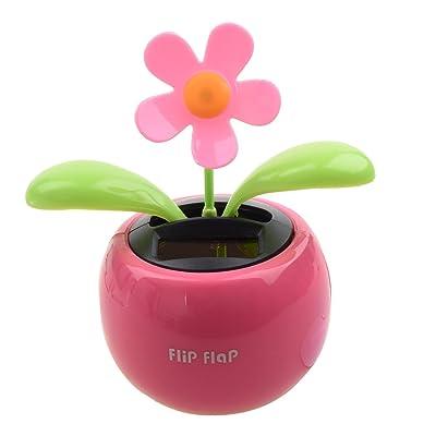 TOOGOO (R) Flores de Baile de Energia Solar: Juguetes y juegos
