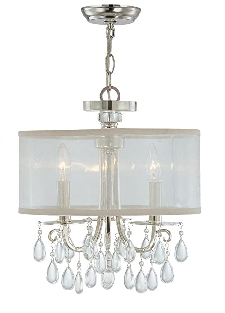 Crystorama 5623 ch crystal accents three light mini chandeliers crystorama 5623 ch crystal accents three light mini chandeliers from hampton collection in chrome aloadofball Image collections