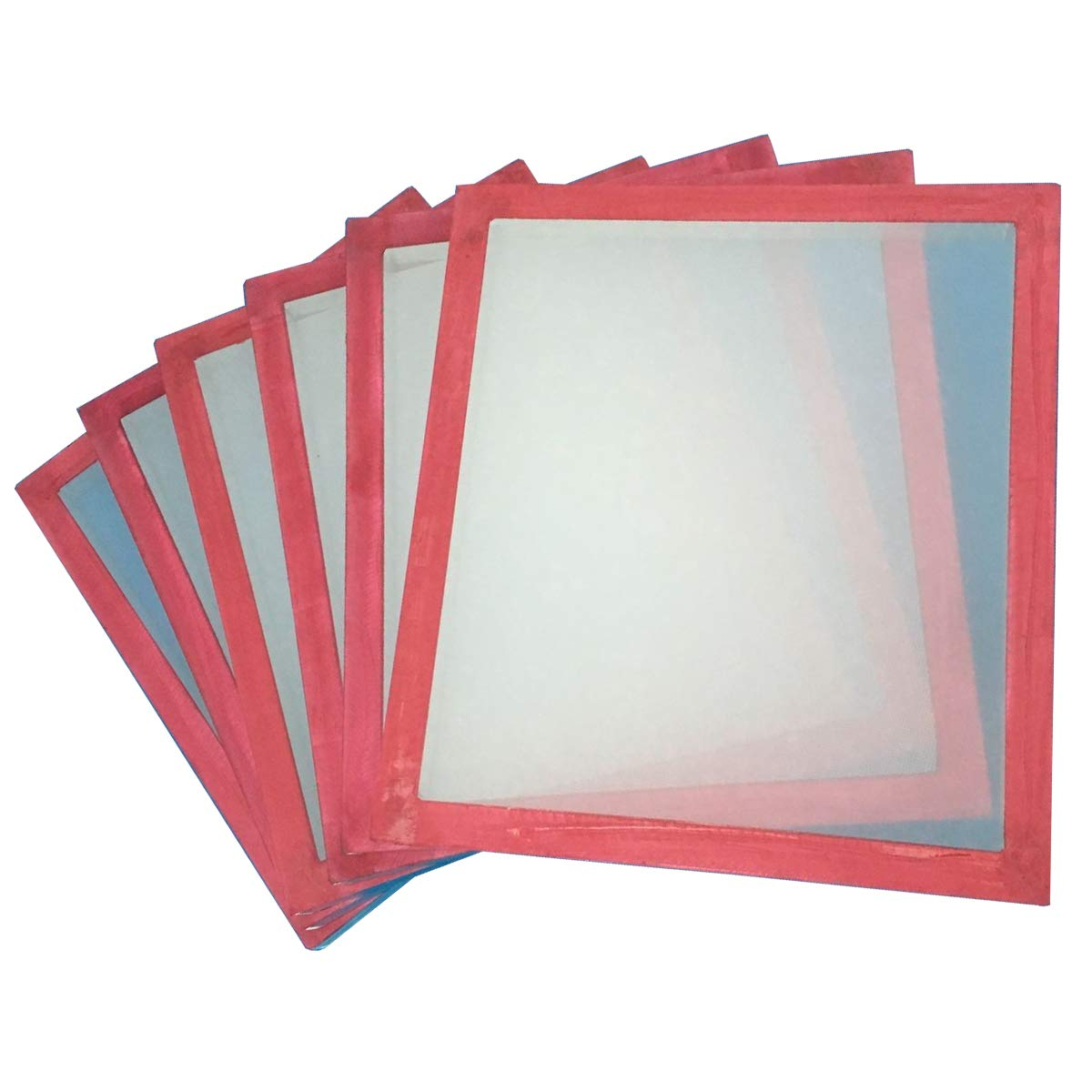 6 Pack 23x31'' Screen Printing Frame with 110 White MESH by DOYAN