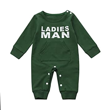 dec4ac23f Buy Goodtrade8 GOTD Newborn Infant Toddler Baby Girl Boy Clothes Winter  Autumn Romper Jumpsuit Outfits Christmas Gi Online at Low Prices in India -  Amazon. ...
