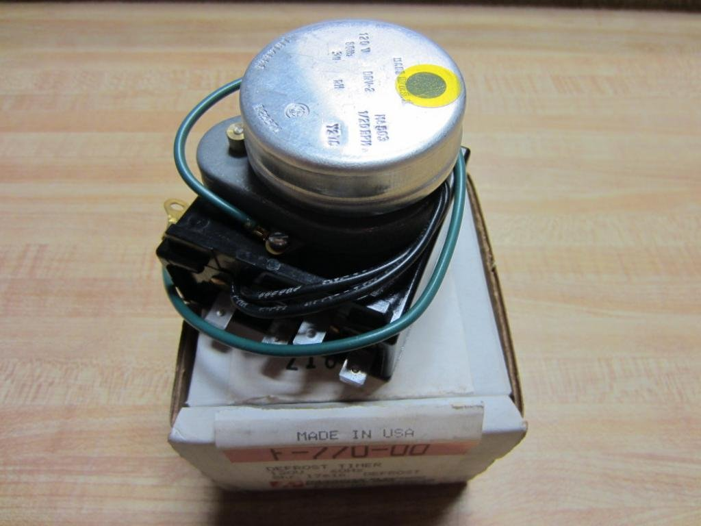 Paragon Electric F-770-00 Defrost Timer 8 Hr 17 Min Z180M