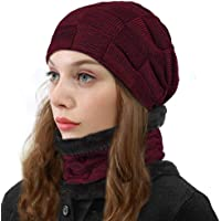 ZIQIAN Beanie Hat Men Warm Knit Hat Oversize Skull Cap Male Female Skiing Running Hiking Outdoor Activities