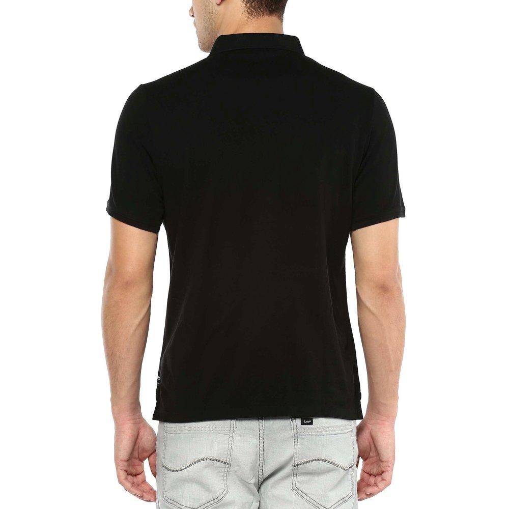 53456987 BLACKBERRY URBAN Mens Solid Polo T-Shirt_Black_Medium: Amazon.in: Clothing  & Accessories