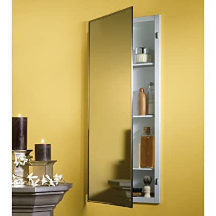 Jensen Medicine Cabinet Styleline 16W X 36H In. Recessed Medicine Cabinet  840P34