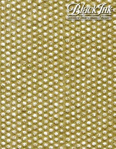 Paper Circle Mesh Metallic Gold 23.5X35.5