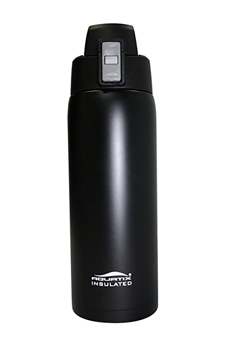 Amazon.com: aquatix Negro Mate Insulated fliptop Ultimate ...