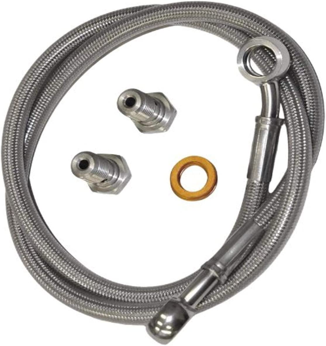 Yana Shiki OFFicial MSR9742+6 Stainless Line Rear Fees free!! Steel Brake