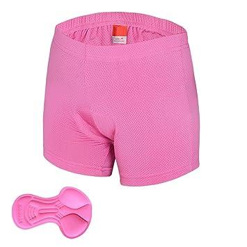 Outdoor Peak Calzoncillos de ciclismo mujer bicicleta Ropa Interior Hombre – Braguitas, pink damen