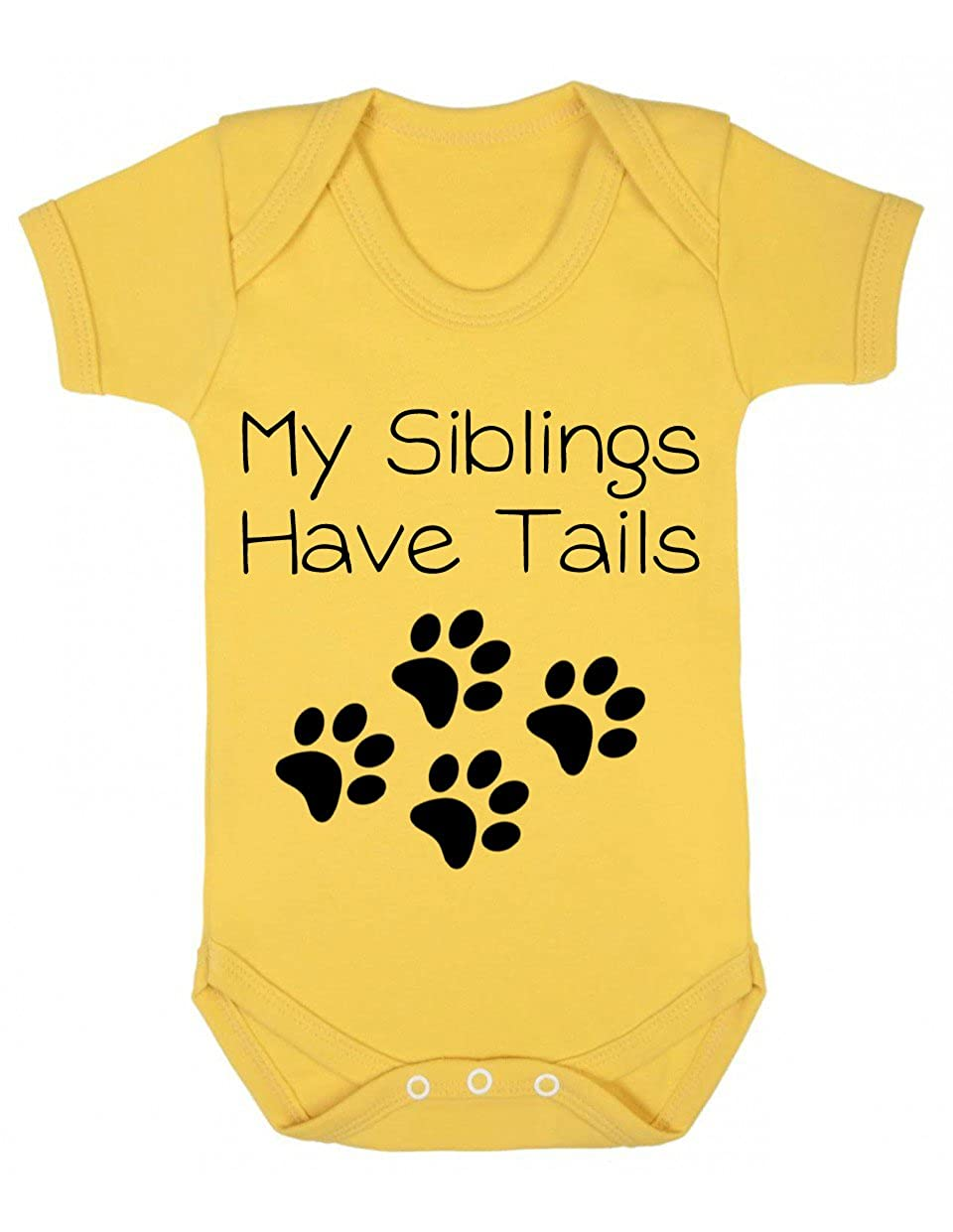 My Siblings Have Tails Baby Bodysuit//Playsuit