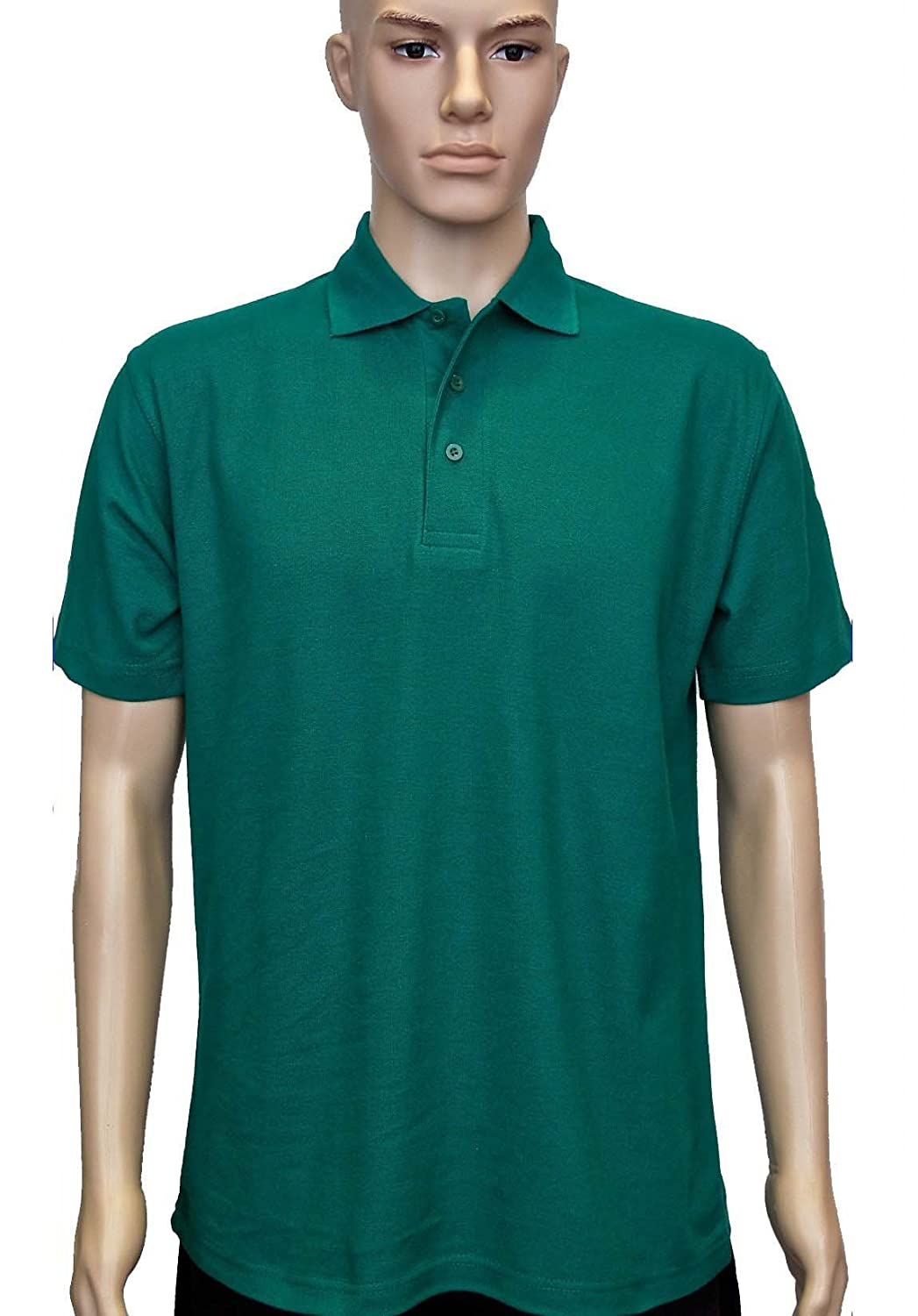 Uneek UC101 Polyester/Cotton Unisex Classic Pique Polo Shirt with Knitted Collar and Hemmed Sleeve Uneek Clothing Company Ltd